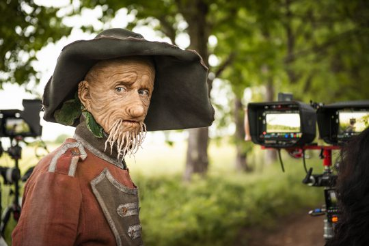 Mackenzie Crook in Worzel Gummidge